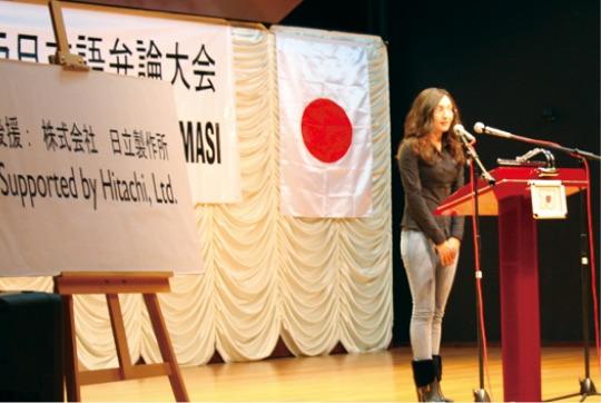 """アンカラとイスタンブルでは毎年、日本語弁論大会が行われている - Ankara ve İstanbul'da her yıl """"Japonca Konuşma Yarışması"""" düzenlenmektedir."""