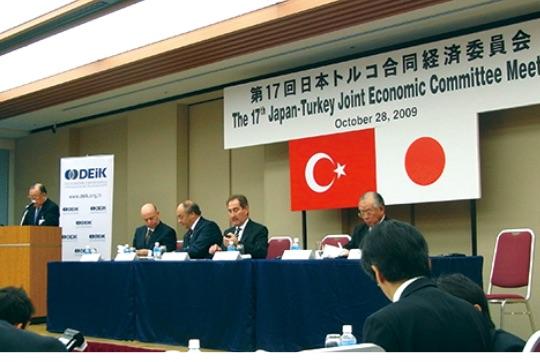 """日本トルコ合同経済委員会は1987年以来継続して行われている重要なビジネス交流 - """"Türk-Japon İş Konseyi"""" 1987 yılından beri devam edilen yüksek düzeydeki Türk-Japon iş adamlarının toplantısı.TürkiyeFestivali"""