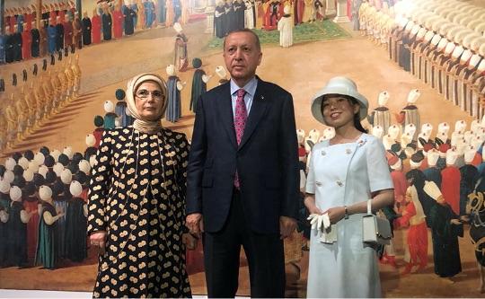 エルドアン大統領の訪日にて(2019年) - T.C.Cumhurbaşkanı Erdoğan'ın Japonya ziyareti (2019)