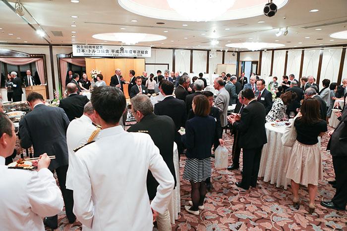 平成28(2016)年度年次総会・懇親レセプション(創立90周年記念)